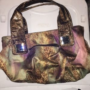 Leopard purse from the buckle